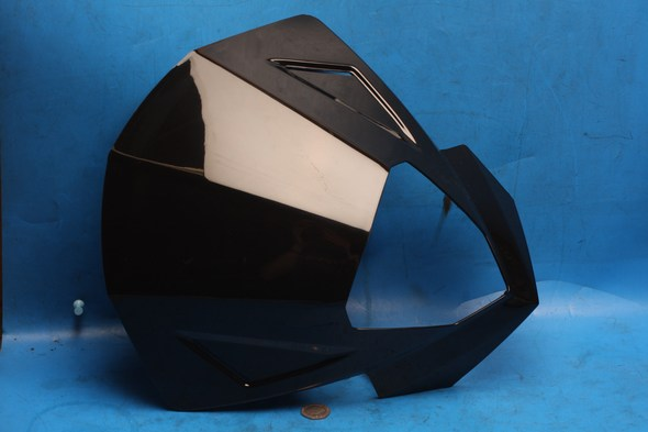 Front fairing cover black sinnis apache new