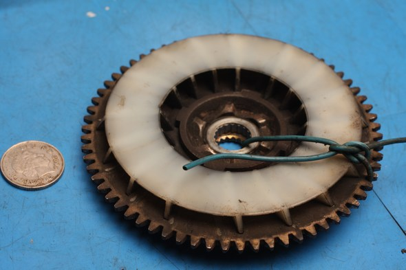 kickstart gear and fan assembly piaggio aprilia 50 used