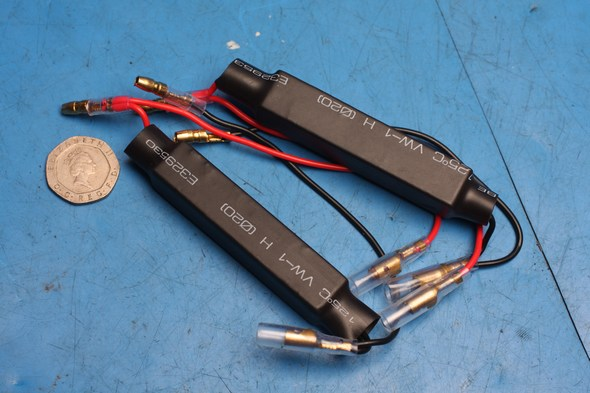 Indicator in line resistors new 20W 15 Ohm