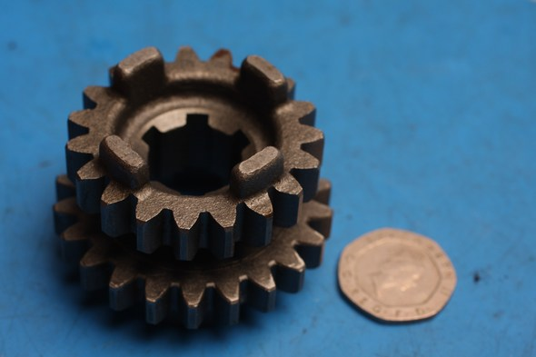 3/4 drive gear genuine hyosung RT125D NOS