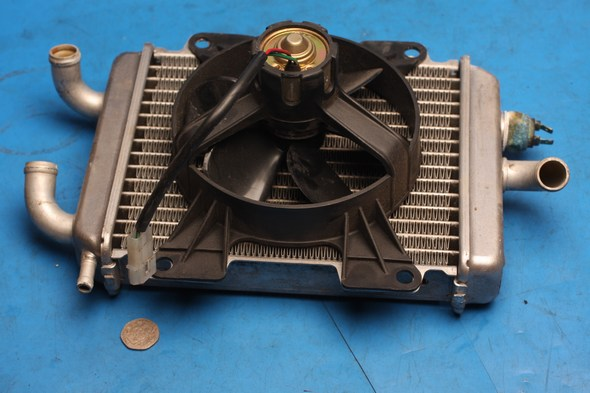 Radiator complete with fan peugeot elystar 125 used