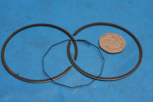 Piston ring set Honda MB50 MT50 big bore 45mm 1.0mm oversize