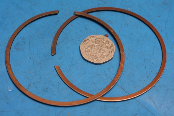 Piston ring set kawasaki KX250 standard new