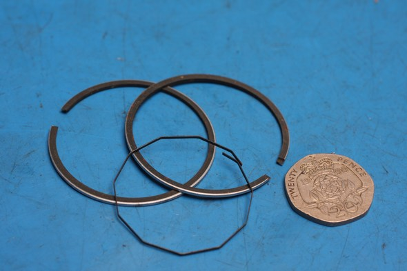 Piston ring set Kawasaki AR50 standard new
