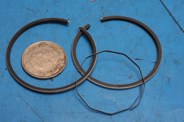 Piston ring set Yamaha PW80 standard new