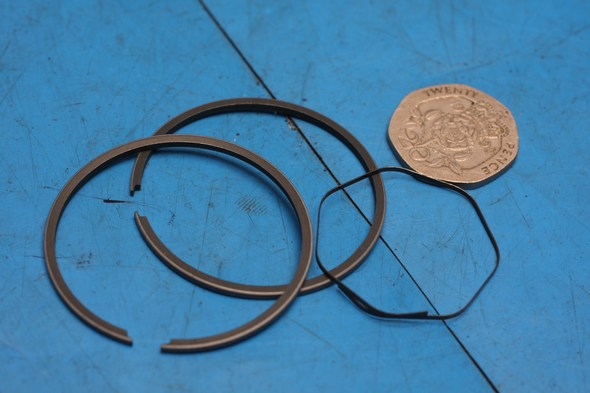 Piston ring set honda MB50 standard new