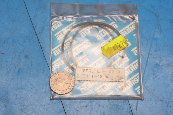 Piston ring set for suzuki TS50X big bore 48mm standard new