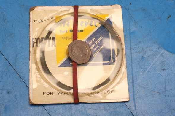 piston ring set for yamaha DT175MX TY175 standard nos