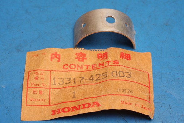 Crank Big end shell 1/2 bearing genuine Honda 13317-425-003