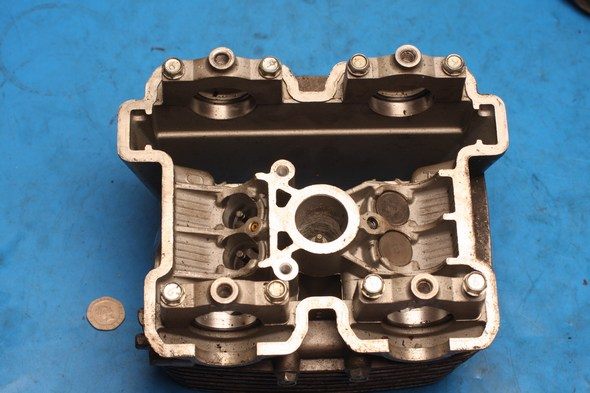 Cylinder head incomplete Hyosung GT125 GV125 used
