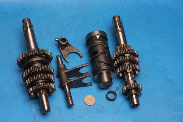 Gearbox main parts Hyosung GT125 GT125R used