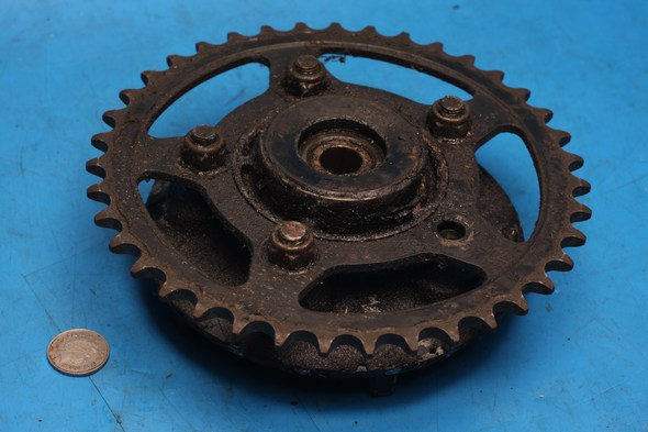 Rear sprocket and carrier Suzuki GS500 used