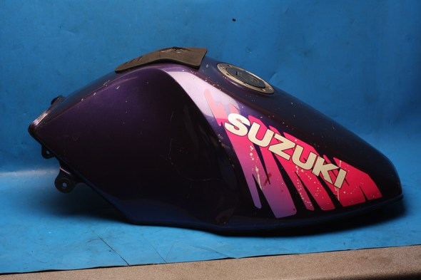 Petrol fuel tank purple Suzuki GS500 used