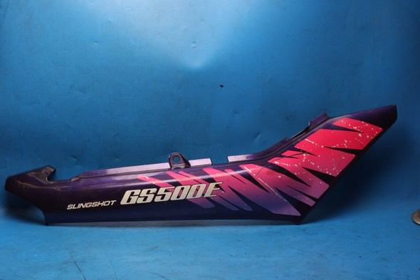 Panel right side purple Suzuki GS500 used