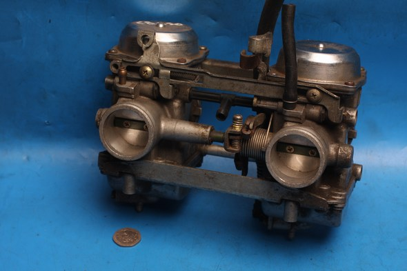Carburetors pair used Honda CB250 two fifty