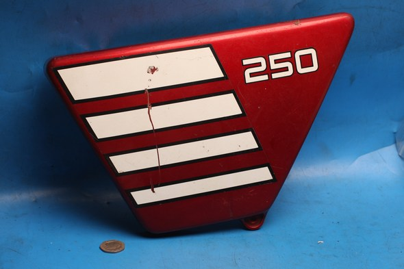 Side panel left hand Yamaha XS250 used