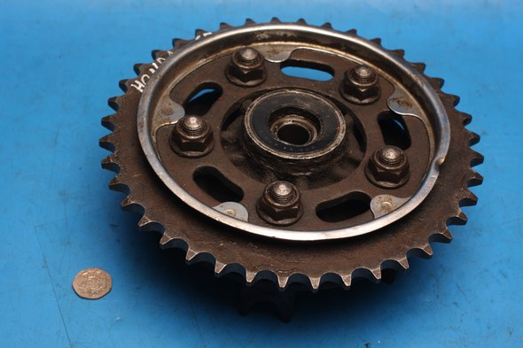 Rear sprocket and carrier Honda CB500 used