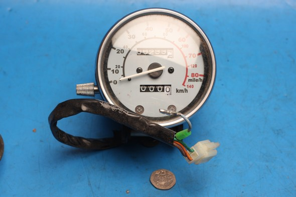 Speedometer clocks MPH AJS regal raptor DD125E used