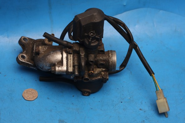 Carburetor and inlet manifold used peugeot speedfight 2 50 - Click Image to Close