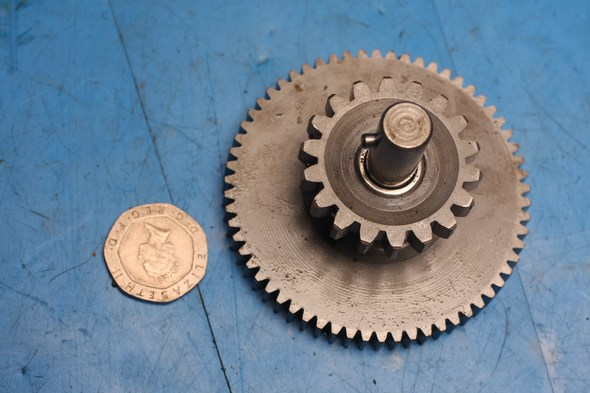 Starter intermediate idler gear and shaft Sym XS125 used