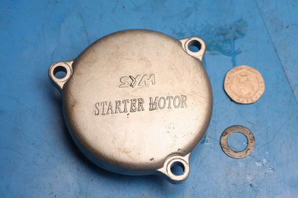 Starter motor assembly cover Sym XS125 used