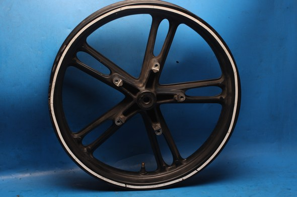 Wheel front Yamaha YZF R125 black used