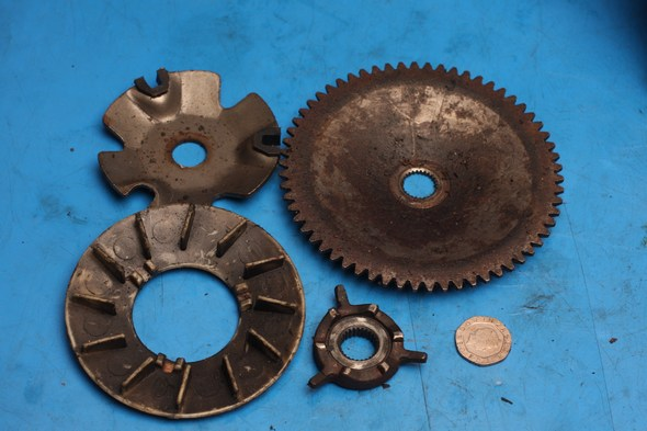 Variator parts chinese 50cc models used