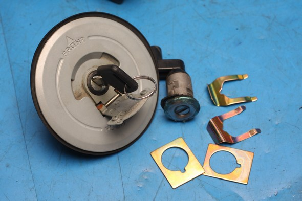 Lockset (minus ignition switch) for Lexmoto XTRS125 used