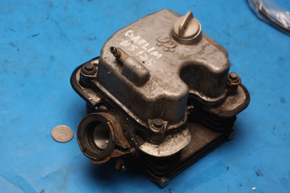 Cylinder head complete Daelim NS125 used