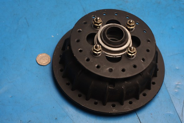 Front wheel hub new old stock for Honda XL125 XL185