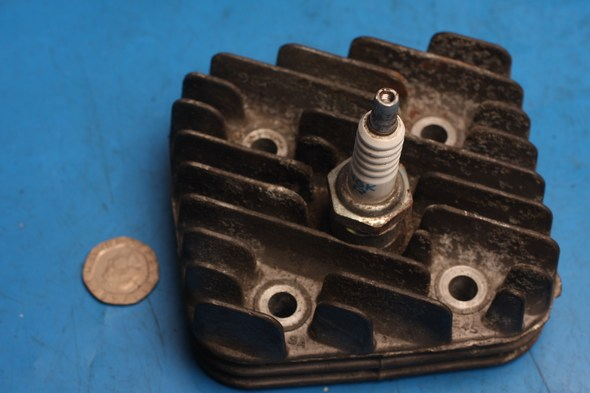 Cylinder Head used fits various 2 stroke 50cc models