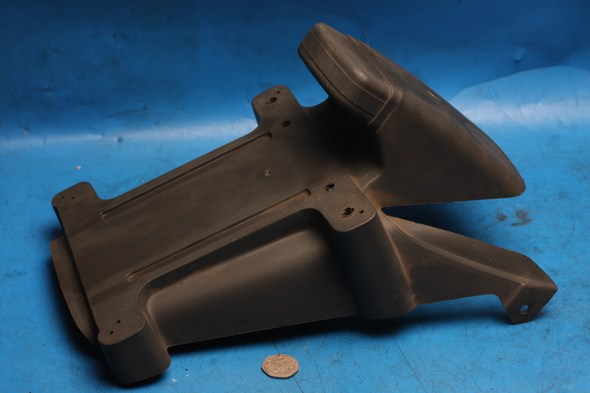 Rear mudguard number plate mount holder Malaguti F12 100 used