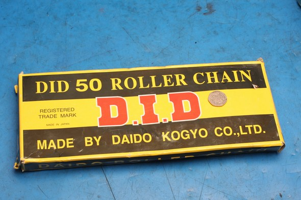 Drive chain 530 / 120 links D.I.D. new