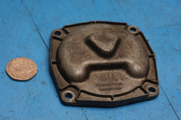 Carburettor float bowl cover S.U. for Norton used