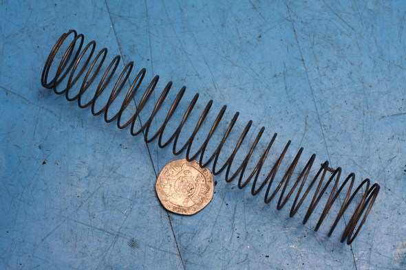 Carburettor spring S.U. for Norton used