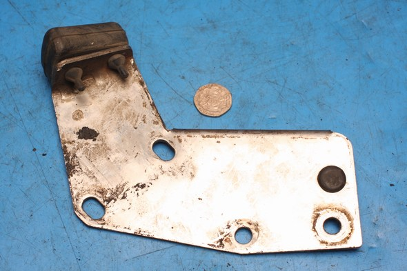 Silencer mounting bracket assembly left hand Norton used