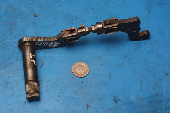 Rear foot brake actuating arm assembly Norton Interpol IP2 used