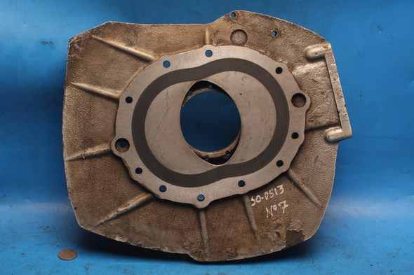 Engine end plate left hand Norton 50-0100 refurbished