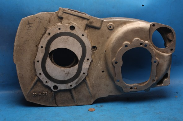 Engine end plate right hand Norton 50-0102 refurbished