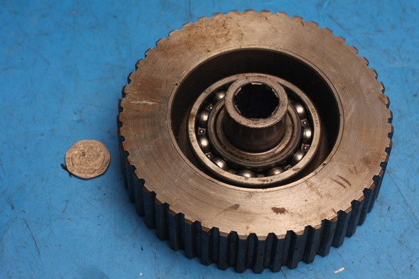 Clutch hub and cush drive assembly Norton used