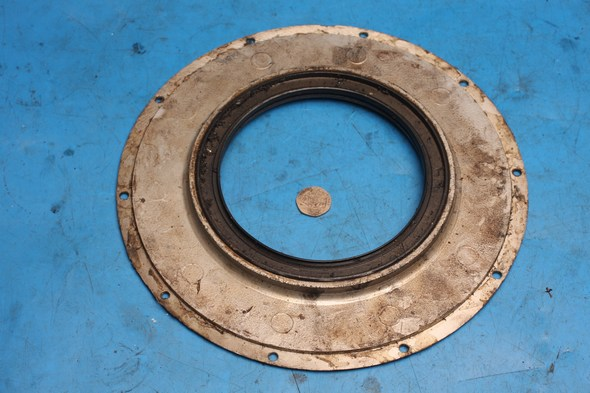 Rear wheel sprocket inner cover and oil seal Norton used