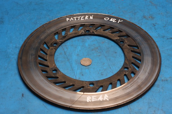 Brake disc rear Norton 31A-25366-00 pattern only