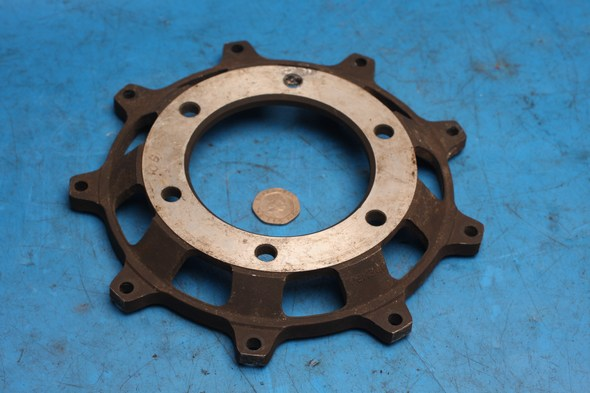 Brake disc adapter plate for Norton used