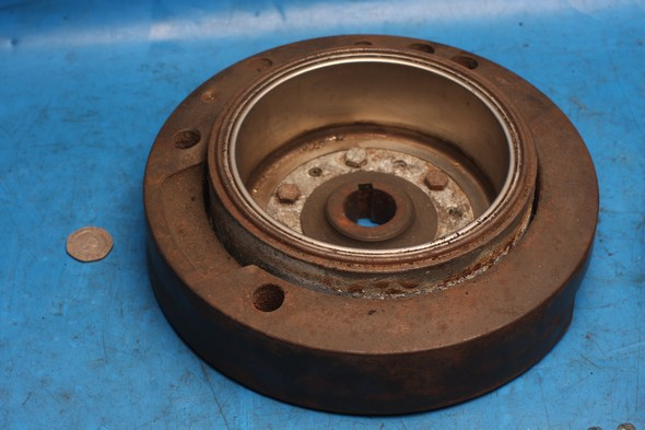 Flywheel and generator rotor assembly Norton used