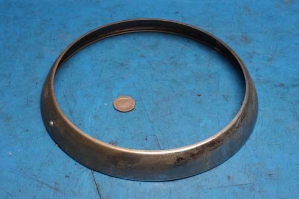 Headlamp headlight bezel Norton 55-0735 used