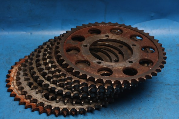 Rear wheel sprockets assorted Norton used
