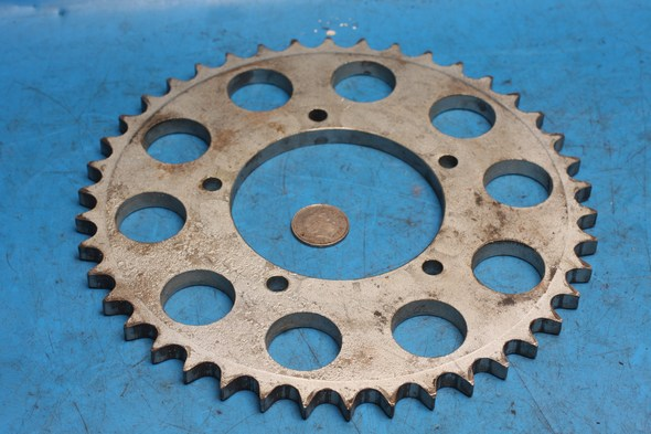 Rear wheel sprocket unfinished Norton used