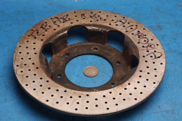 Brake disc rear Norton Aurora new