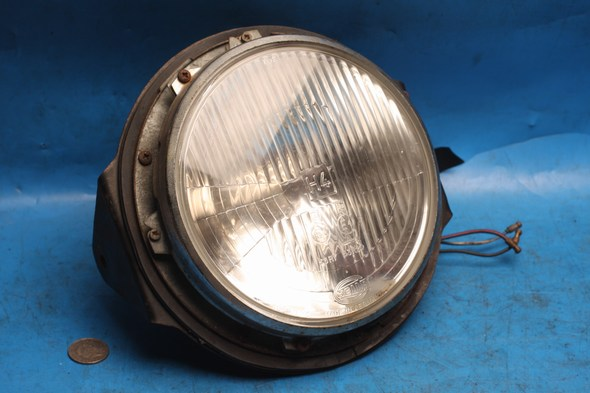 Headlamp headlight assembly complete Norton used