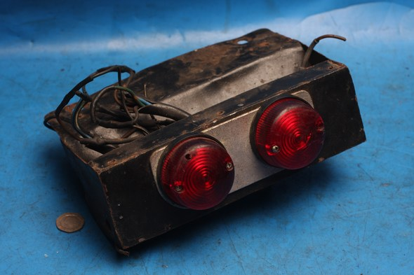 Rear light home-made to fit Interpol 2